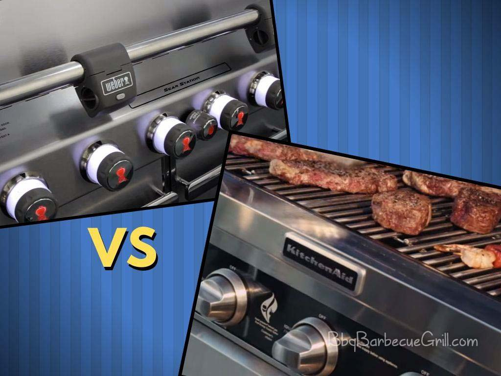 KitchenAid Gas Grill vs Weber Genesis Grill