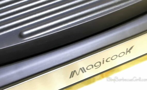 Magicook Electric Reversible Grill Griddle with Removable Nonstick Plate Temperature Control