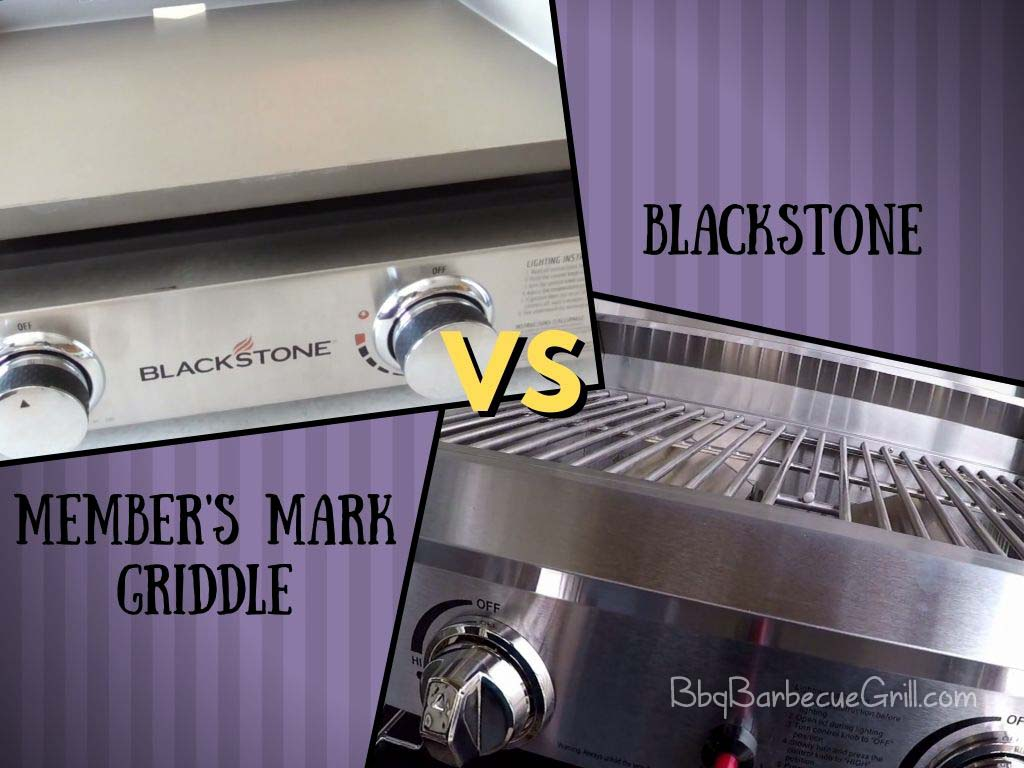 Members Mark griddle vs Blackstone