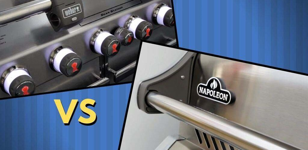 Napoleon gas grill vs Weber Genesis gas grill