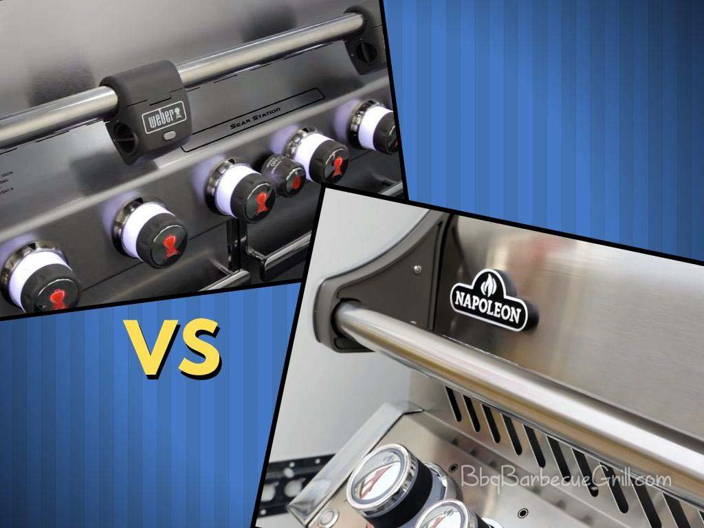 Napoleon gas grill vs Weber Genesis gas grill