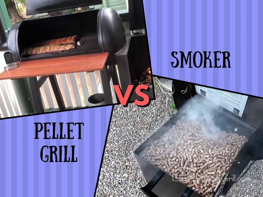 Pellet grill vs smoker