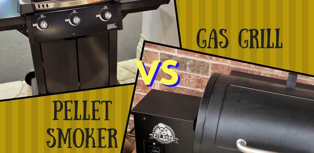 Pellet smoker vs gas grill
