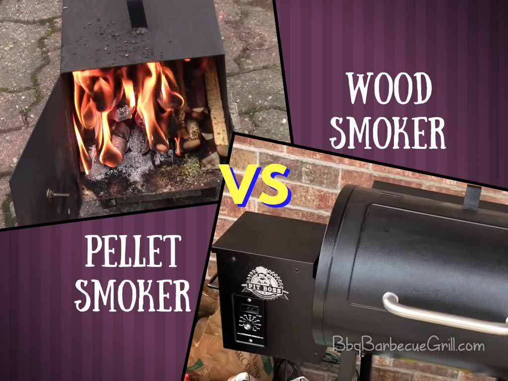 Pellet smoker vs wood smoker