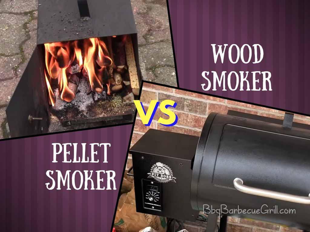 Pellet smoker vs wood smoker