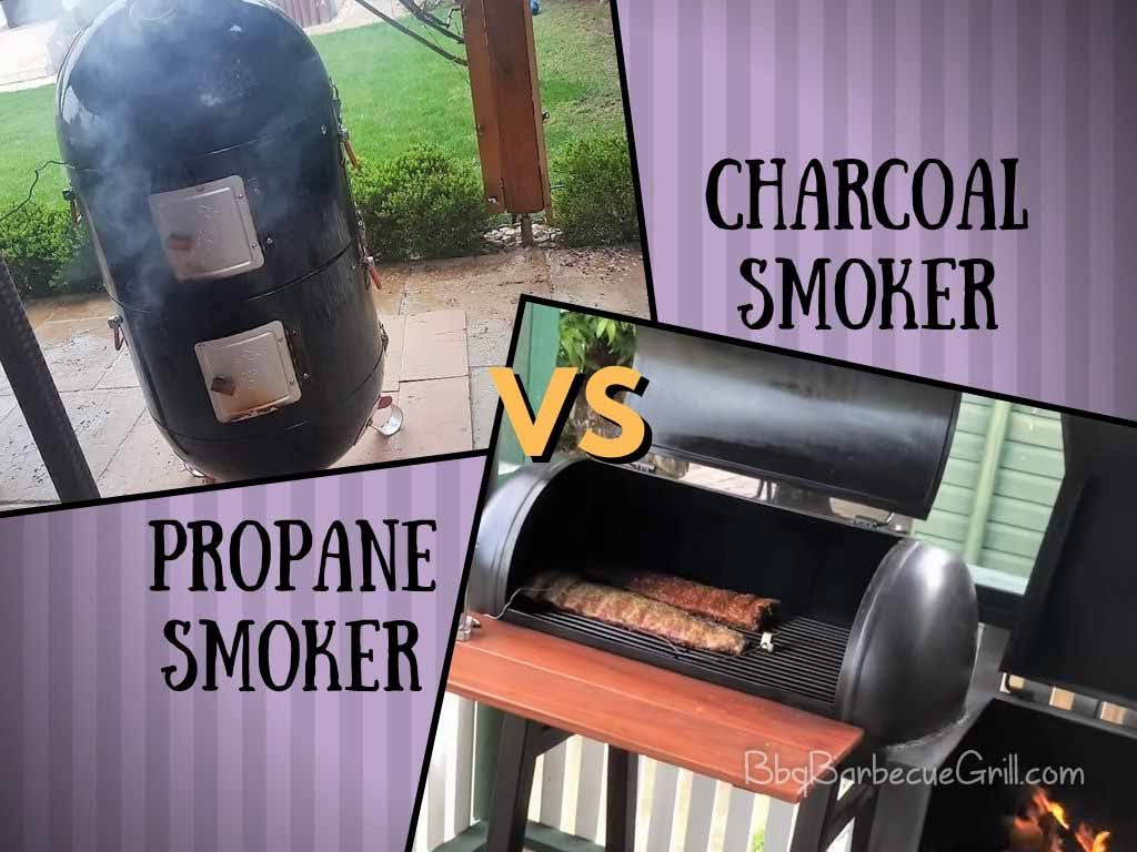Propane smoker vs charcoal smoker