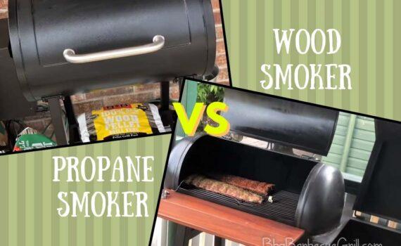 Propane smoker vs wood smoker