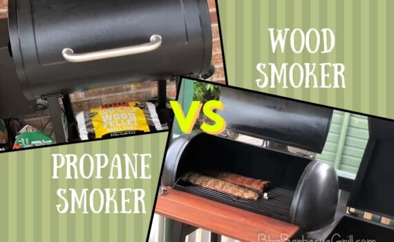 Propane smoker vs wood smoker