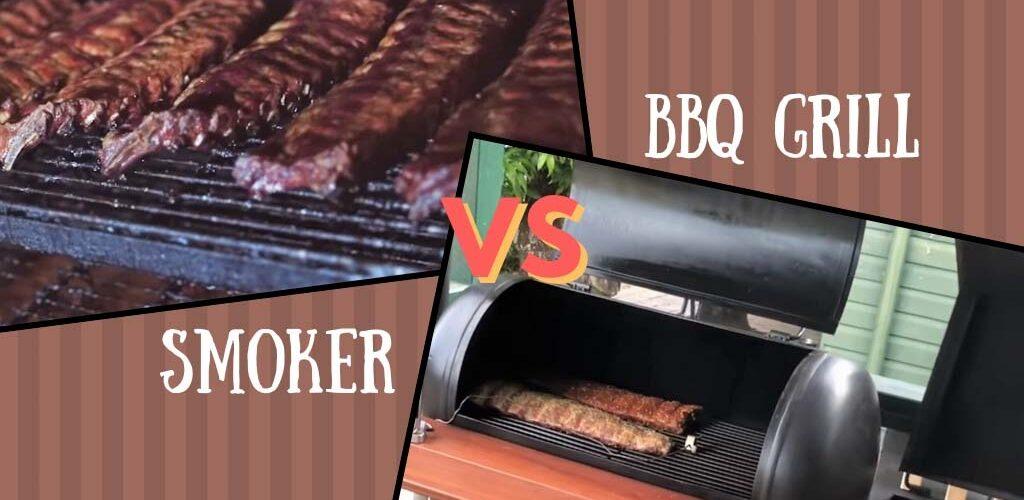 Smoker vs bbq