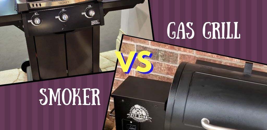 Smoker vs gas grill