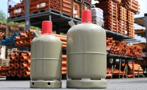 Storing propane tanks in garage