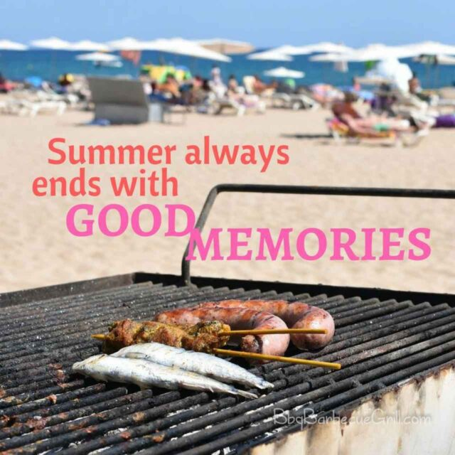 Summer always ends with good memories.