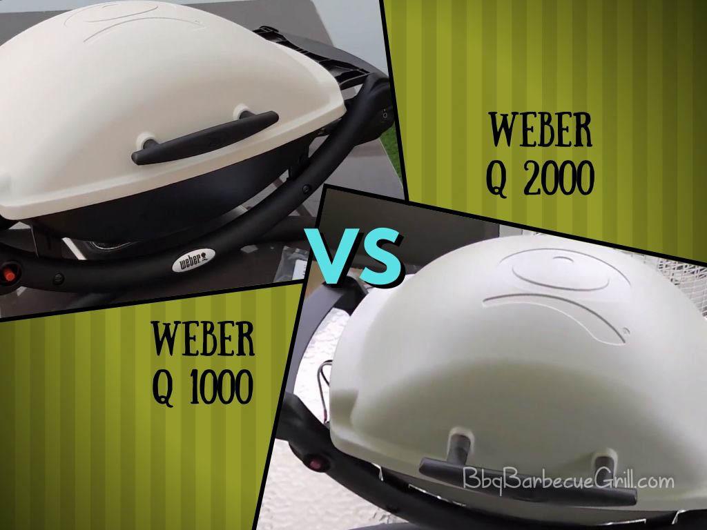 Weber Q1000 vs. Q2000 Grill