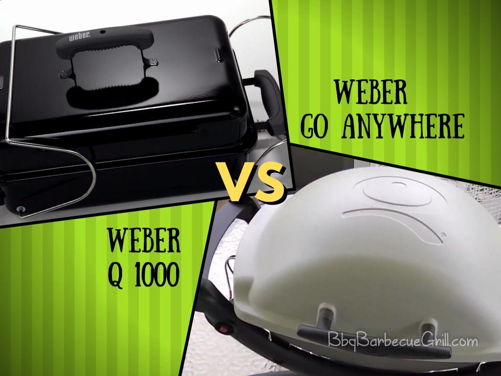 Weber Q1100 vs Go anywhere