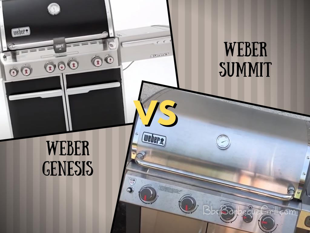 Weber genesis vs summit