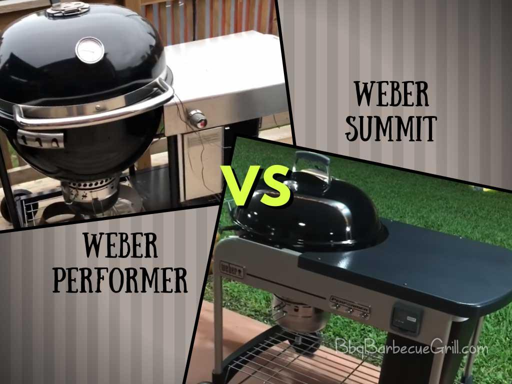 Weber performer vs summit charcoal