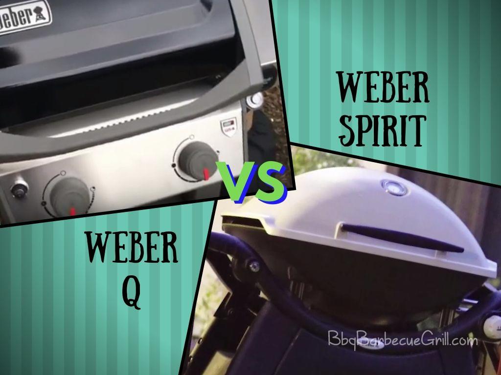 Weber q vs spirit