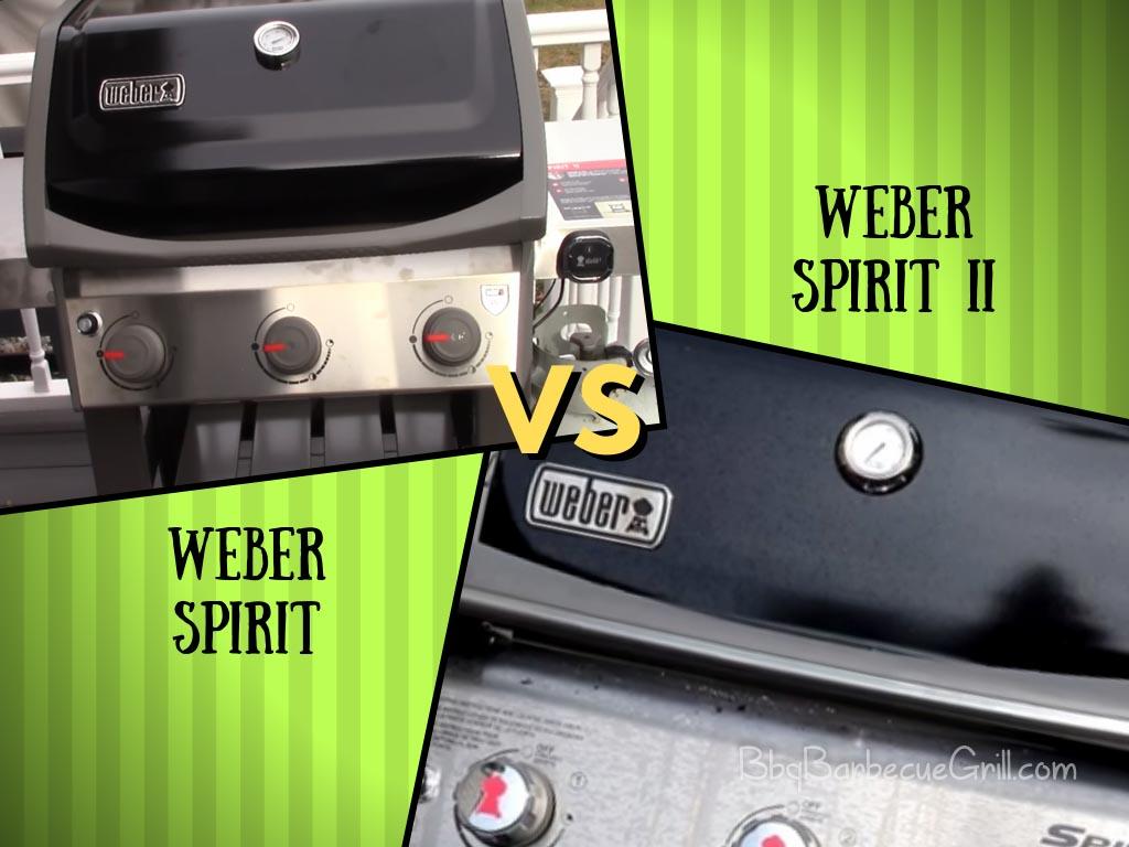 Weber spirit vs spirit ii