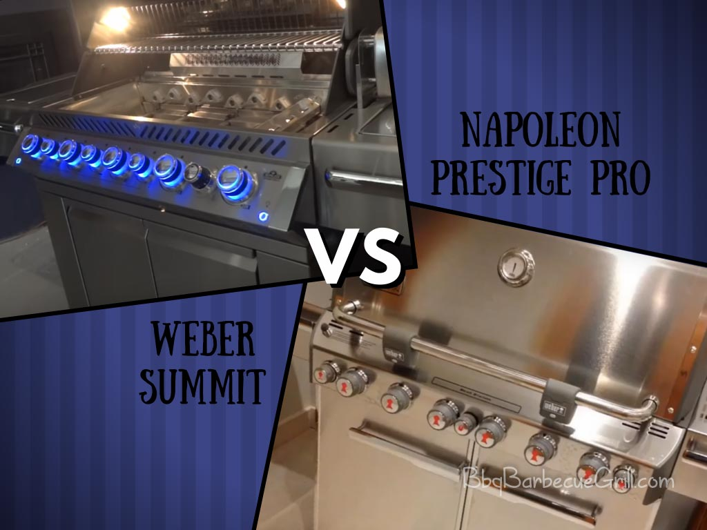 Weber summit vs napoleon prestige pro