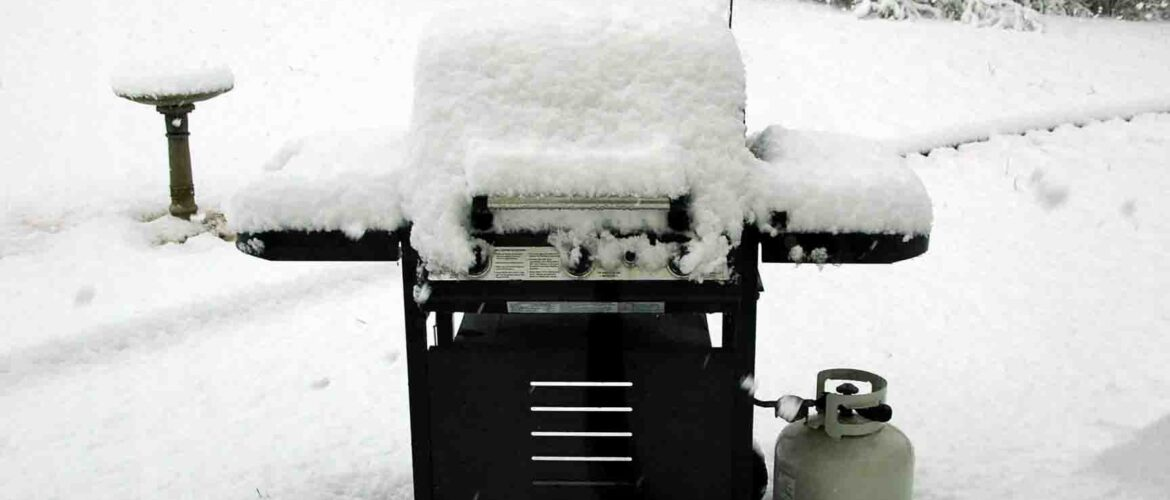 Winter grilling 0