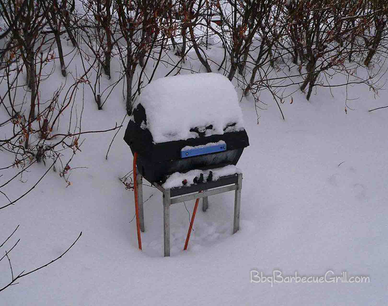 Winter grilling 1